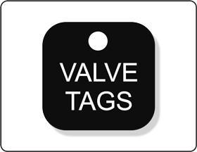 Lamicoids, Valve Tags, Stencils & Labels
